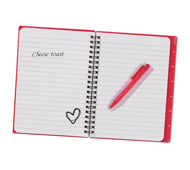 Spiral Notebook Png I also carry a notepad,