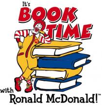 It's Book Time with Ronald McDonald
