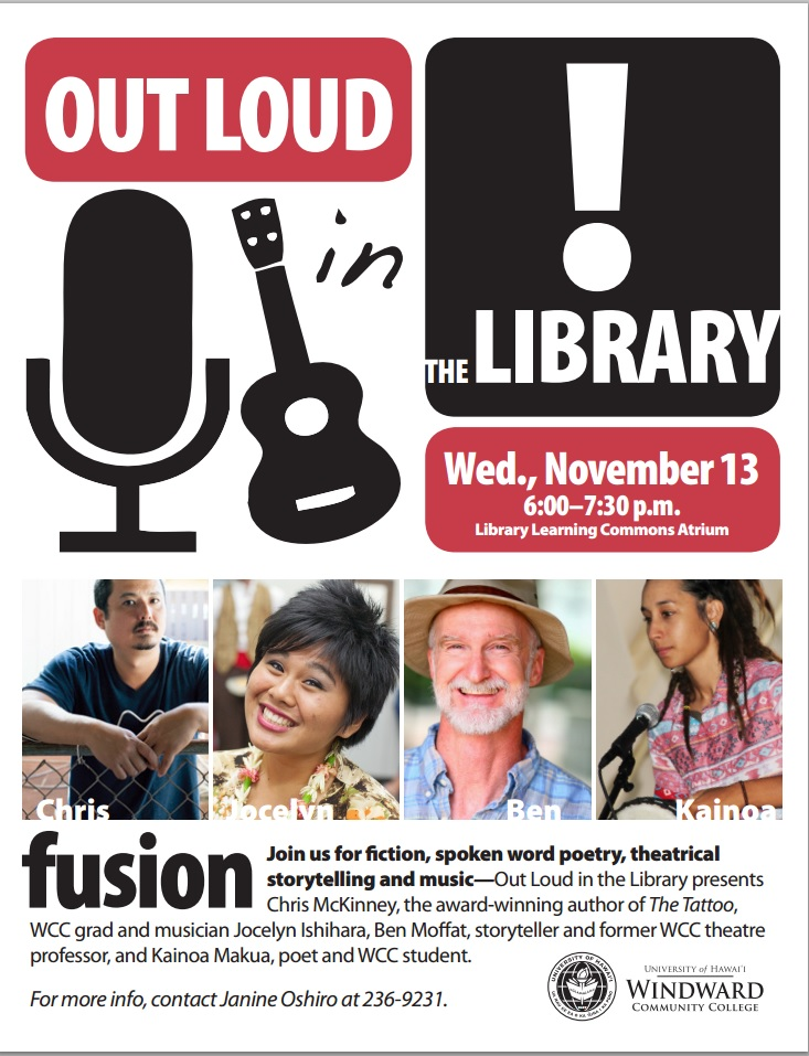 Out Loud in the Library, November 2013