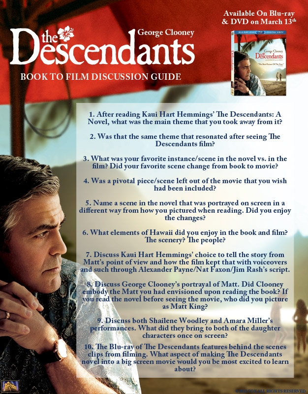 The Descendants Book